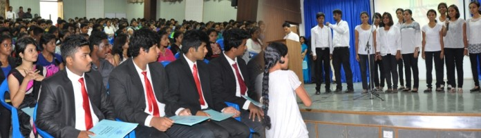 Classes Begin For SJC's First B Com Batch