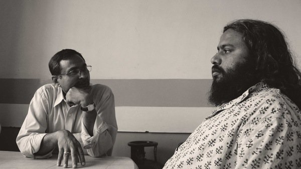 Profs. Cheriyan Alexander and Arul Mani.