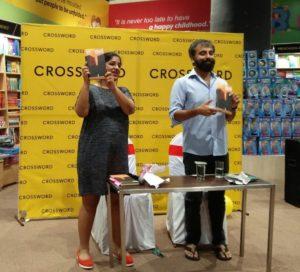 Figure 1: Nisha Susan and Prayaag Akbar at the Leila launch