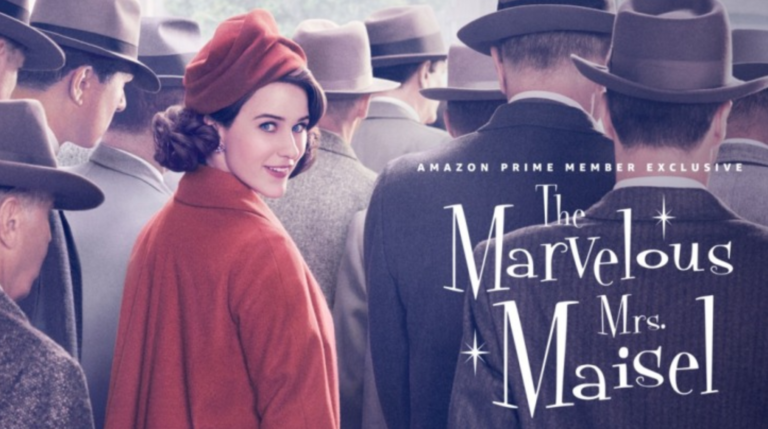 The Marvelous Mrs Maisel: Maisel on stage is the Whole Damn Fig-Tree