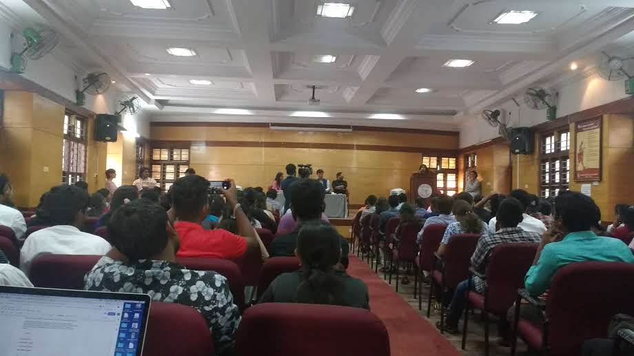 Pre-Election, Students Question Political Leaders on Employment