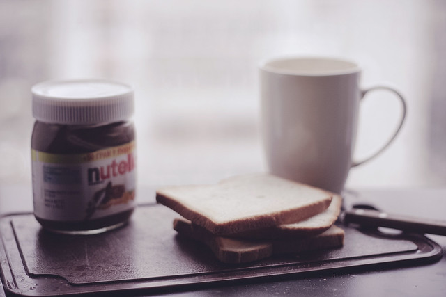 A Case for Nutella, and a Jar for others