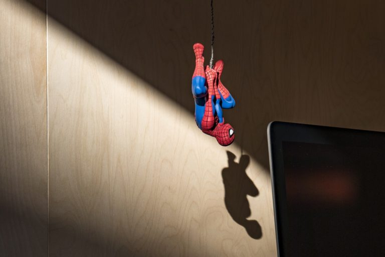 """""""Spiderpig, spiderpig, can he swing from a web?"""""""